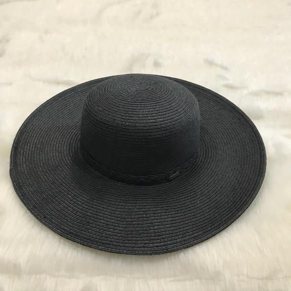 77b3e607f7e Nine West black sun hat